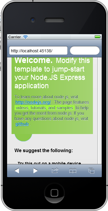 Test your websites on the iPhone simulator