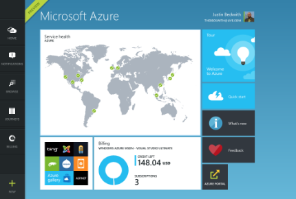 Under the hood of the new Azure Portal